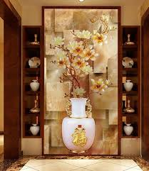 custom furniture stickers paint to the glass sliding door wardrobe bathroom opaque vestibule continental vase