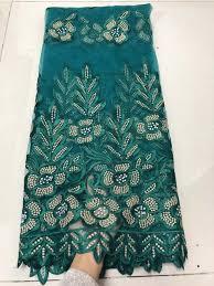 <b>Beautifical</b> nigerian <b>french lace fabric</b> blue high quality lace ...