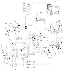 C bell hausfeld of25135a parts diagram for air pressor cool pressure