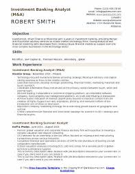 How To Make A Modeling Resume New Investment Banking Analyst Resume Samples QwikResume