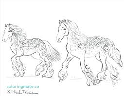 Printable Horse Coloring Pages Wild Horse Coloring Pages To Print