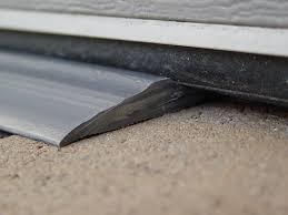 garage door floor sealGarage Door Threshold Seal   How to Install Garage Door Threshold
