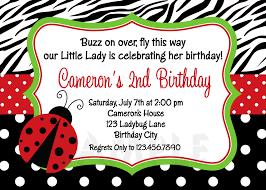 printable birthday invitations ladybug first party red ladybugs girls printable birthday invites