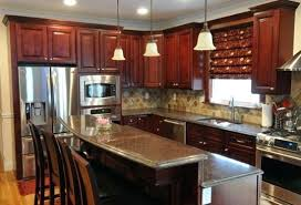 N Cherry Mahogany Kitchen Cabinets Home A Maple And Countertops Near Me