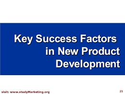 new product development strategy key success factors in new product development
