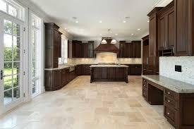 Travertine Kitchen Floors Kitchen Floors Best Kitchen Flooring Materials Houselogic Stone