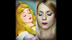 disney princess makeup tutorial aurora the sleeping beauty