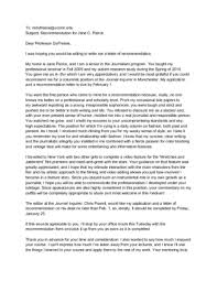 Format Letter Of Recommendation Academic How To Ask Your Professor For A Letter Of Recommendation Via