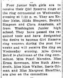 Journal Times Bulletin 3 Feb 1935 Beulah & Hilda Simpson - Newspapers.com