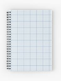Graph Papper Graph Paper Spiral Notebook