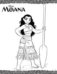 Moana Coloring Pages Pdf Free Printables Disney Moana Coloring Pages