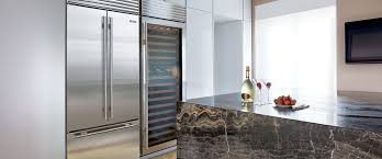 over and under refrigerator freezer with french door built in refrigeration sub zero