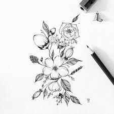 Small Picture Best 25 Beautiful flower drawings ideas on Pinterest Flower
