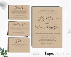 Word Template For Invitation Diy Wedding Invitations Templates Free Download Downloadable
