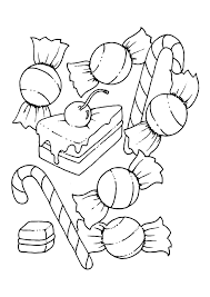Small Picture Candy Coloring Pages GetColoringPagescom