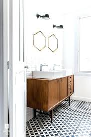 top rated mid century modern bathroom vanity photos how a mid century chandelier can elevate your