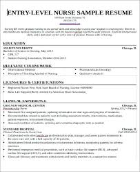 Entry Level Registered Nurse Resumes Entry Level Registered Nurse Resume Resume Format Writing For