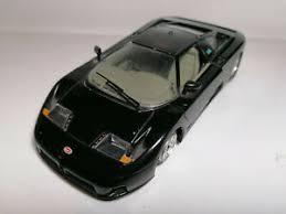 Subito a casa e in tutta sicurezza con ebay! Burago Bugatti Eb 110 1 24 Scale In Good Cond A Missing Part Ebay