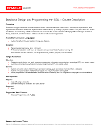 Database Design And Programming Database Design And Programming With Sql