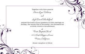 Wedding Invitation Template Microsoft Word Paper Invitation