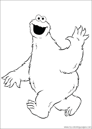 Cookie Monster Coloring Page Cookie Monster Coloring Page Cookie