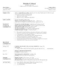 Nursing Resume Templates Mesmerizing Nursing Resume Template Cna Resume Template Resume For Sample Sample