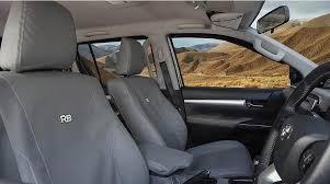 canvas seat cover for mitsubishi triton