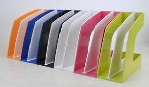 File holder box Supplies Image Is Loading Colorfulofficemagazinestandfileholderhomedesk Ebay Colorful Office Magazine Stand File Holder Home Desk Book