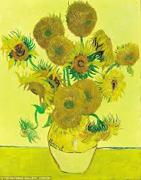 vincent van gogh s sunflowers consistently outs every other painting in the national gallery in the form