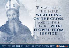 St Augustine Of Hippo Quotes Cool 48 Of The Most Profound Quotes Of The Church Fathers On The Eucharist
