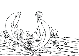 Dolphin Coloring Pages Free Coloring Pictures Of Dolphins Printable