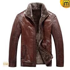 fur lined mens leather jacket jackets cwmalls com