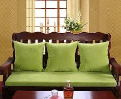 architecture attractive chair and sofa cushions new jade plus thick wooden cushion without backrest jacket detachable