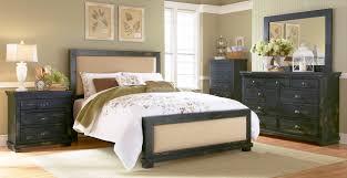Distressed Bedroom Furniture Sets Willow Slat Bedroom Set Distressed Black Progressive Furniture