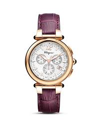 salvatore ferragamo idillio purple leather strap watch 42mm salvatore ferragamo men s idillio purple leather strap watch