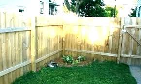 how much to install wood fence wooden homewyse install wood picket fence