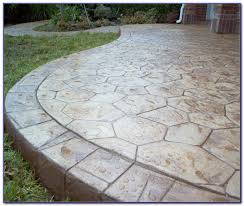 stamped concrete patios pros and cons patios home