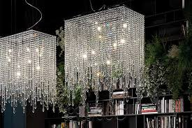venezia contemporary italian crystal chandelier cattelan italia