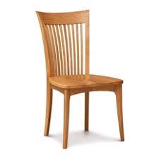 copeland furniture copeland sarah sidechair wood seat smoke cherry dining chairs cherry wood furniture