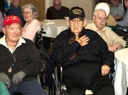 twenty one world war ii veterans were among the 45 veterans honored at van rensselaer