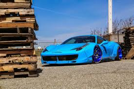ferrari italia widebody. liberty walk widebody ferrari 458 italia