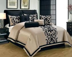 black and cream super king bedding comforter sets white bedroom bed