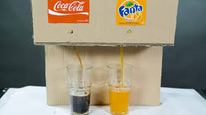 how to make coca cola soda fountain machine with 3 diffe drinks at home