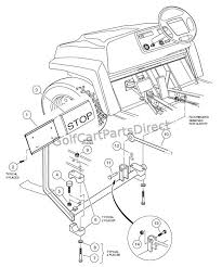 2001 2004 pioneer 1200 & 1200se club car parts & accessories 2100 Gas Golf Cart Wiring Diagram brake pedal assembly 2000 gas golf cart wiring diagram with lights