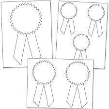 Blue Ribbon Template Printable Award Ribbons Classroom Pinterest Printables Ribbon