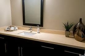 bathroom counter tops. Beige Granite Bathroom Counter Top With Dark Cabinets Tops