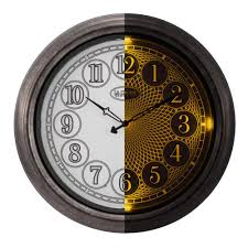 18 indoor outdoor lighted wall dial