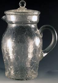 le crystal pitcher lid elegant depression glass