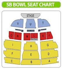Sb Bowl Seating Chart Santa Barbara Bowl Schedule Slubne Suknie Info