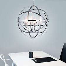 qadira 4 light chrome 18 inch chandelier